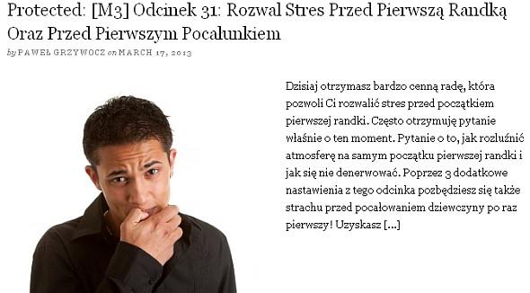 Rozwal Stres Przed Pierwszą Randką Oraz Przed Pierwszym Pocałunkiem
