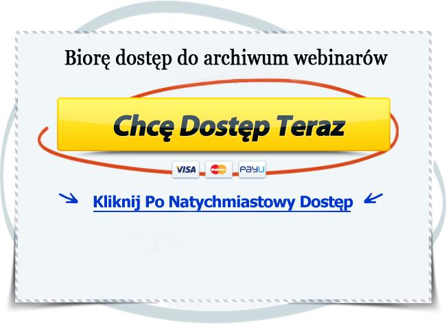 cotygodniowe webinary - zarezerwuj miejsce