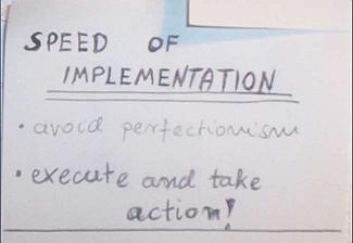 """""""Szybkość implementacji"""" - Unikaj perfekcjonizmu."""