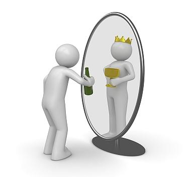 wmawianie sobie pewności siebie