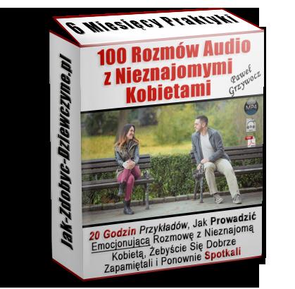 100 rozmów audio z nieznajomymi kobietami