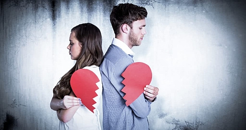 dziewczyna zrywa bez powodu - kocha ale zrywa