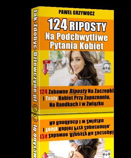 124 riposty na podchwytliwe pytania kobiet okładka